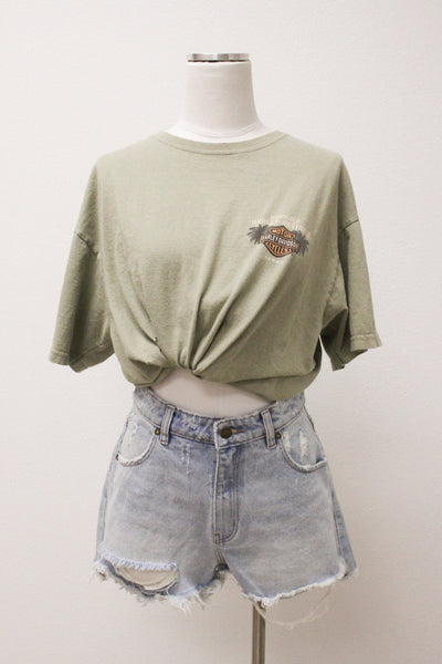 Honolulu Oversized Harley Tee