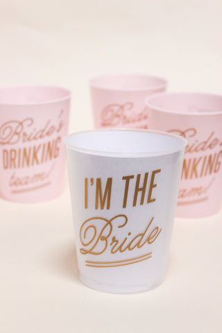 Bachelorette Party Cup Set
