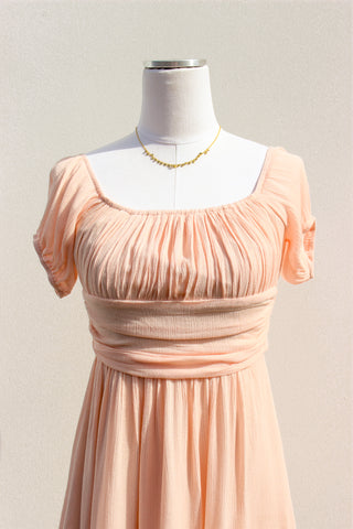 Abby Pleated Mini Dress
