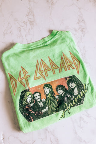 Daydreamer Def Leppard Animal Tee