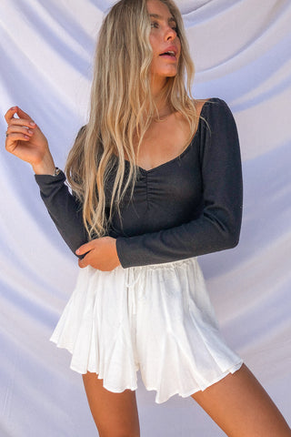 Swept Away Flowy Shorts