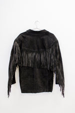 New York City Suede Fringe Jacket