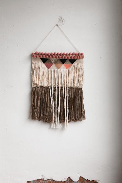 Malibu Fringed Yarn Art