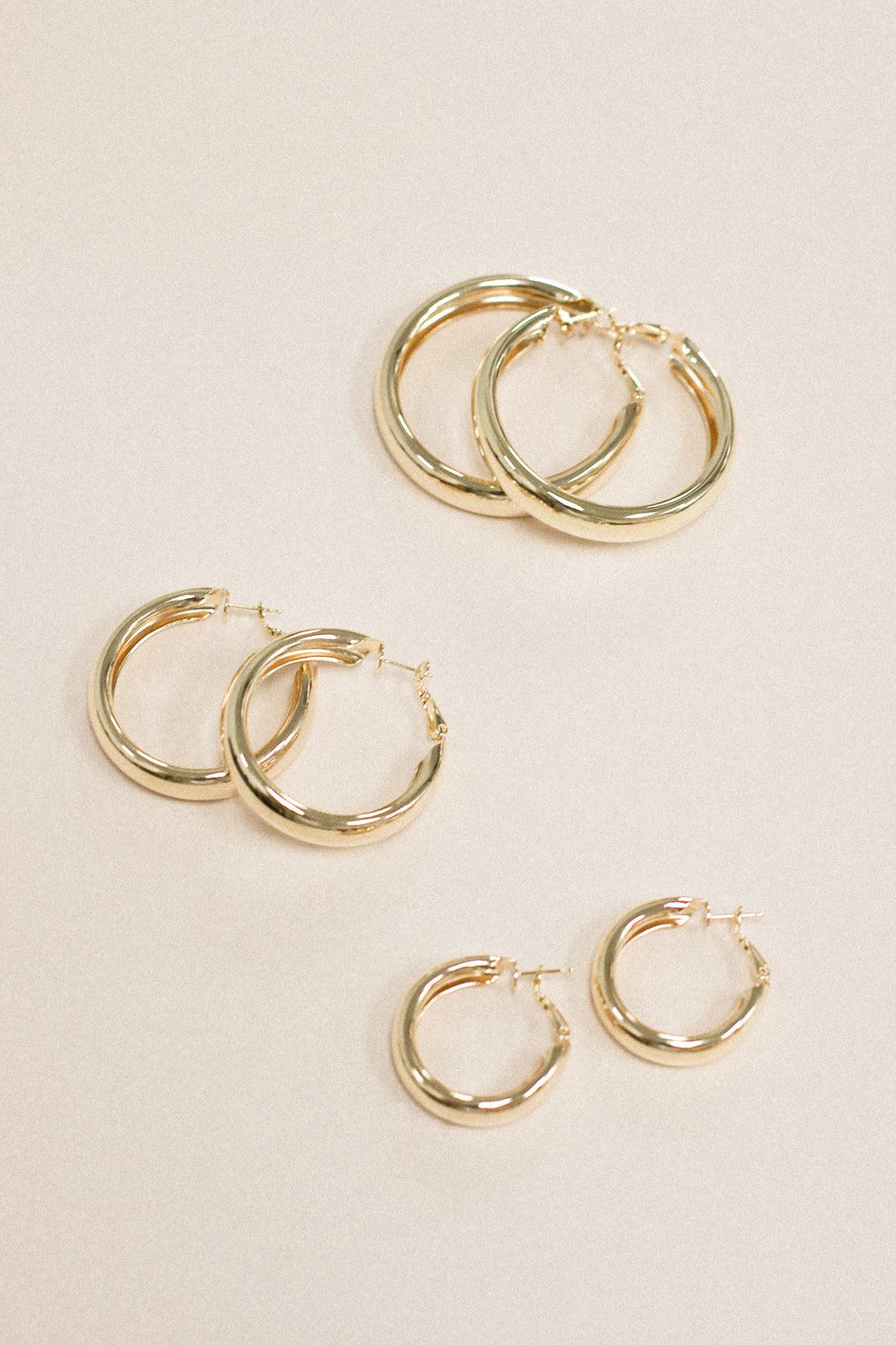 Falling Fast Hoop Earrings