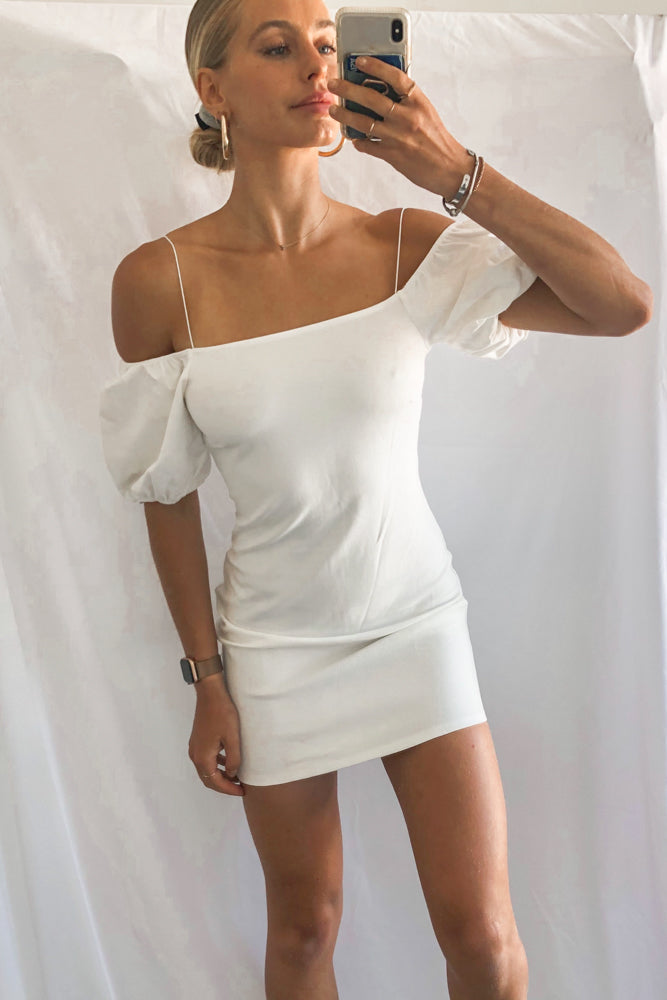 Bethany Off Shoulder Mini Dress