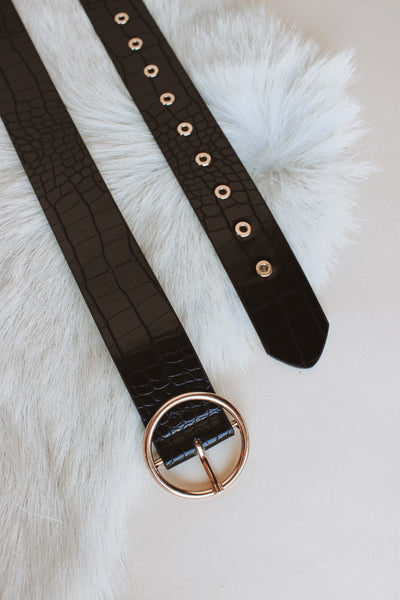 Marcella Crocodile Belt
