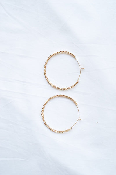 The High Road Hoop Earrings