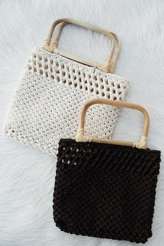 Adeline Crochet Mini Bag