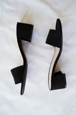 Venice Venture Mules in Black