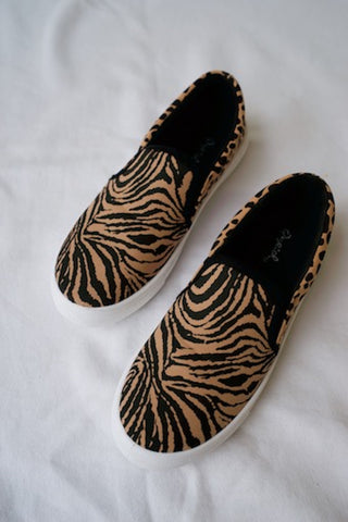 Millie Animal Print Slip On