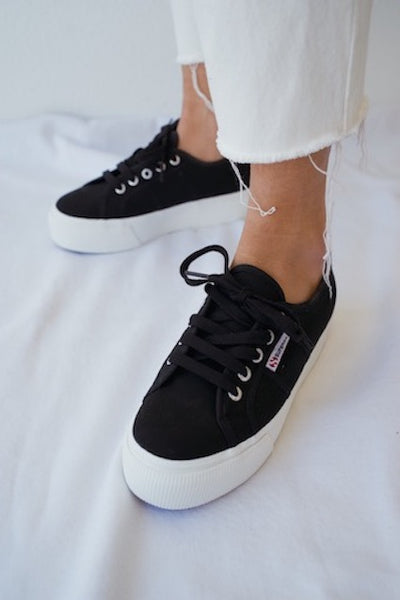 più amato 3f7bd 8480d Superga ACOTW Linea Up And Down Sneakers In Black