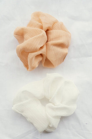Summer Nights Glitter Scrunchie Set