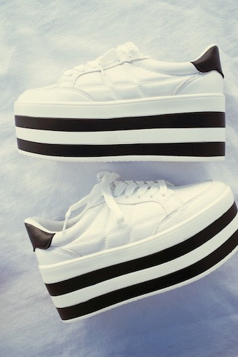 Wake Up Platform Sneakers