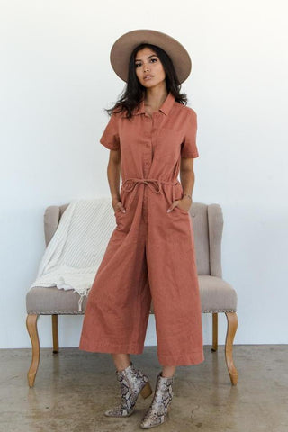 Beyond Dazed Utility Jumpsuit