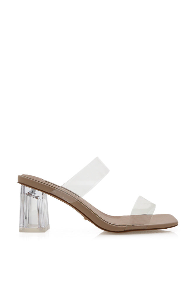 Ulric Clear Heeled Mule