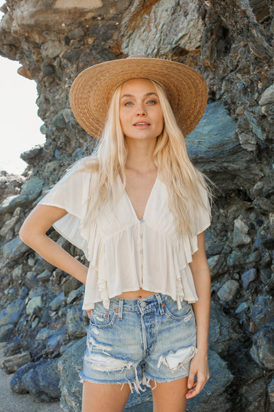 Pacific Coast Flowy Top