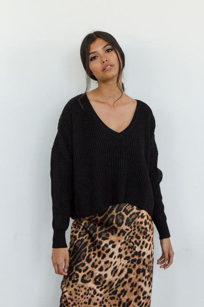 Wild At Heart Knit Sweater