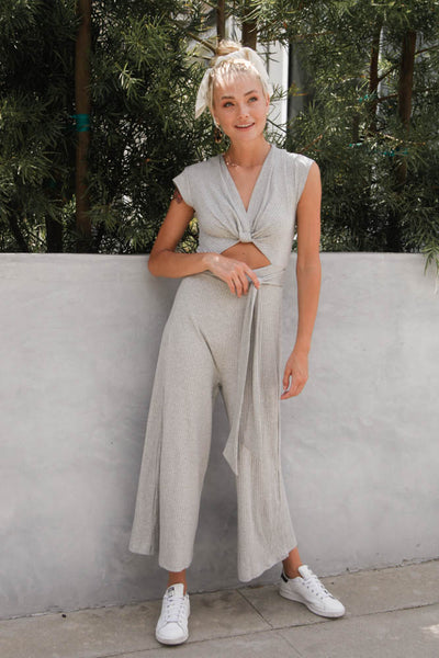 Stay Forever Ribbed Jumpsuit
