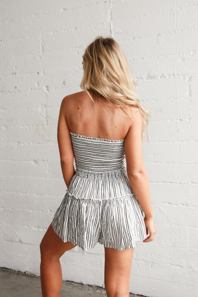 Sweeter Than Love Striped Short Set
