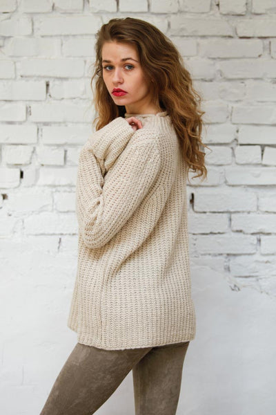 Understated Mock Neck Sweater