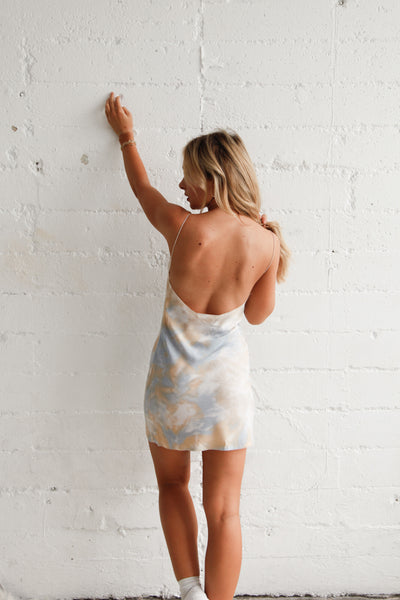Native Daughters In The Clouds Slip Dress