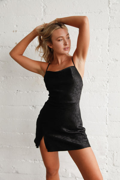 All A Dream Satin Mini Dress