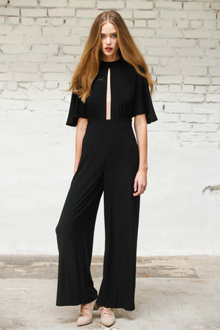Optimist Cutout Jumpsuit