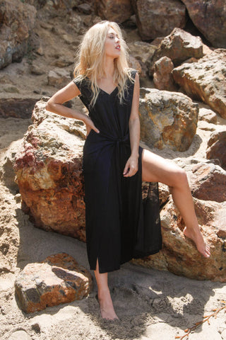 Long Weekend Tied Jumpsuit
