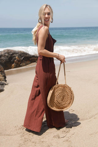Native Daughters Tuscan Sun Jumpsuit