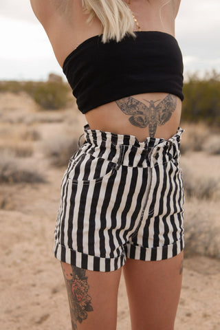 Real Love Striped Shorts