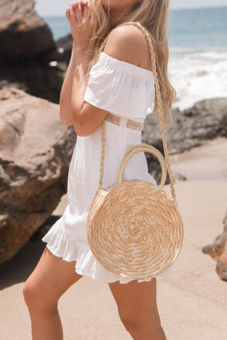 Sweet Like Honey Woven Purse
