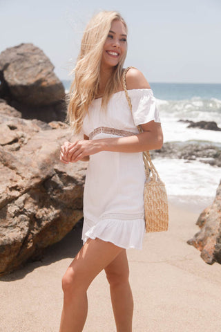 Gabriella Off Shoulder Dress