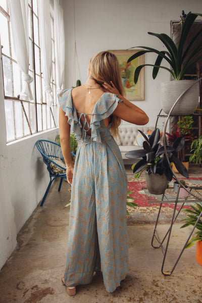 Native Daughters Sonia Printed Jumpsuit