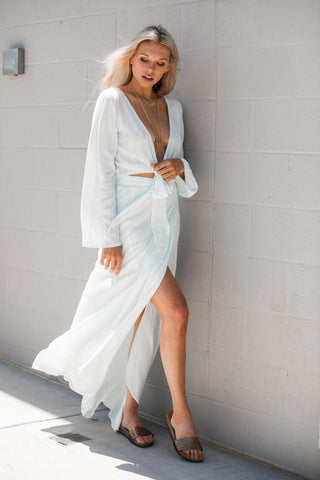 Washed Out Maxi Set