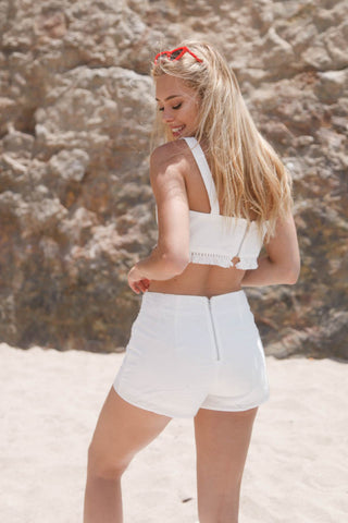 White Lies Tassel Skort Set