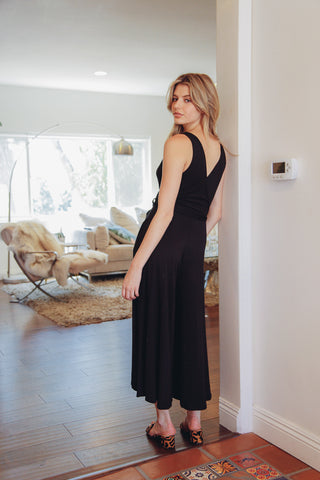 Midnight Muse Wrap Jumpsuit