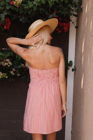 San Fran Strapless Dress
