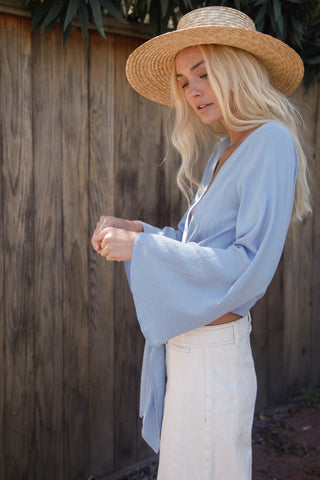 Santa Barbara Wrap Top