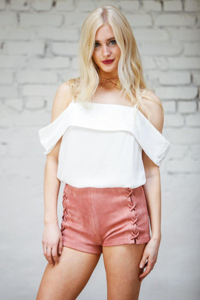 Monica Cold Shoulder Top