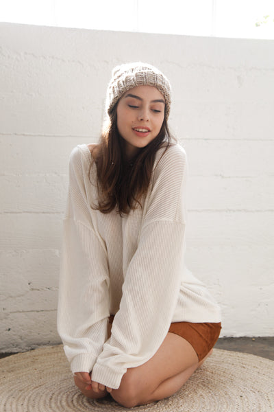 Day Tripper Oversized Sweater
