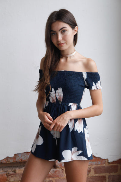 Maui Off The Shoulder Romper