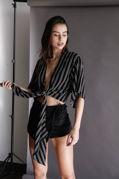 Los Angeles Wrap Top