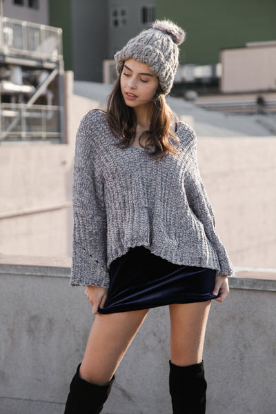 Silver Lining Oversized Sweater