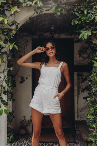 All My Love Belted Romper