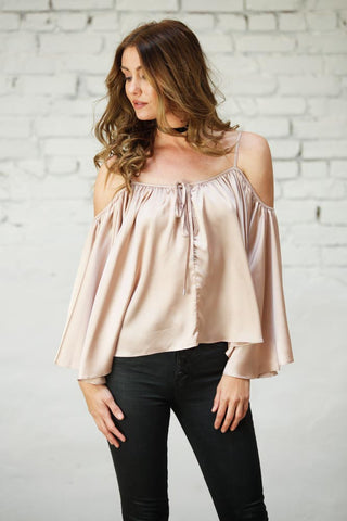 Joyful Satin Top