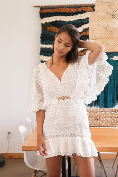 Native Daughters Moonlight Lace Dress