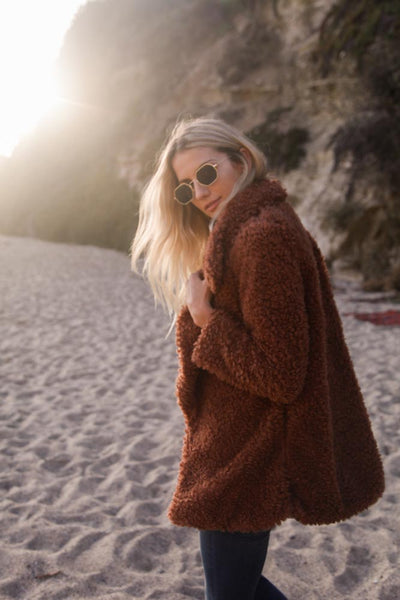 Sunset Soul Fur Jacket