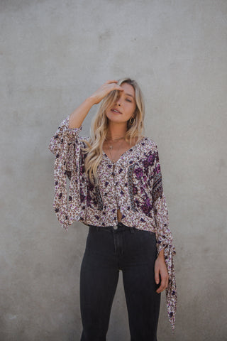 Midnight Muse Printed Top