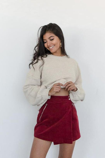 Too Good Corduroy Skirt