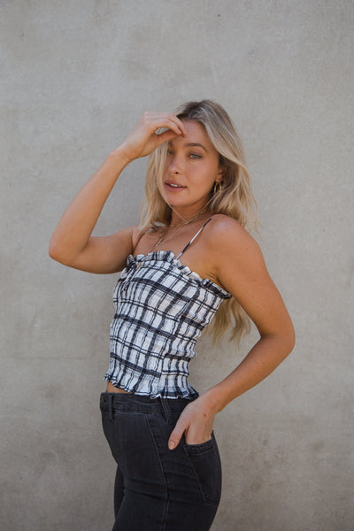 Rocky Plaid Tank Top
